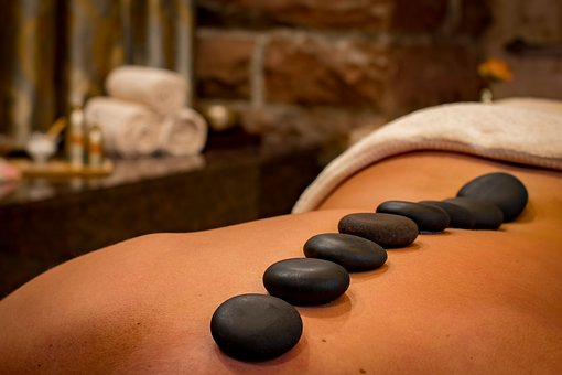 hotstone massage foto